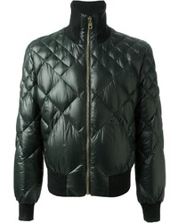 Quilted bomber jacket medium 129651