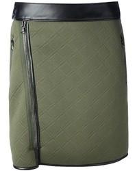 3 1 phillip lim quilted biker skirt medium 26457