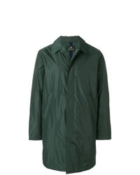 Dark Green Raincoat