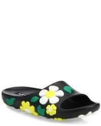 Prada Flower Rubber Slides