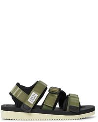 Suicoke Kisee V Webbing And Neoprene Sandals