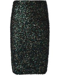 Alice olivia aliceolivia sequin embellished pencil skirt medium 121634