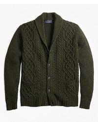 Brmar for cable shawl collar cardigan medium 5412603