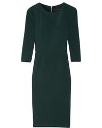 Dark Green Sheath Dress