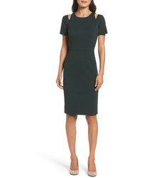 Cold shoulder sheath dress medium 4953234