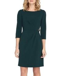 Crepe sheath dress medium 963886