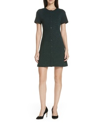 Theory Easy Snap Textured Dress