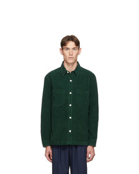 Hope Green Corduroy Overshirt