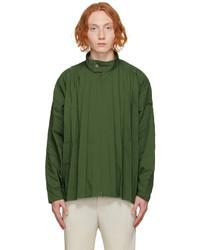 Homme Plissé Issey Miyake Green Edge Jacket