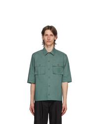 MAISON KITSUNÉ Green Pockets Over Shirt