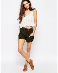 Only Khaki Cargo Short