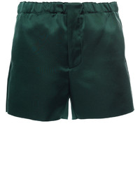 Marni Spherical Green Shorts