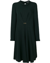 Salvatore Ferragamo Draped Shift Dress