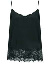 Equipment Layla Lace Trimmed Silk Cami Top