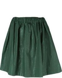Dark green skater skirt original 4879330
