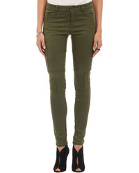 Dark Green Skinny Jeans for Women  Women&39s Fashion