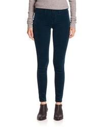 J Brand Luxe Velveteen Super Skinny Jeans