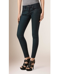 Burberry Skinny Fit Low Rise Deep Indigo Jeans