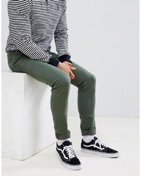 ASOS DESIGN Skinny Jeans In Green