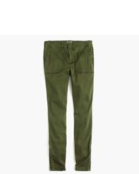 J.Crew Skinny Stretch Cargo Pant With Zippers
