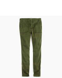 J.Crew Tall Skinny Stretch Cargo Pant With Zippers