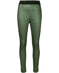 Dolce & Gabbana Jacquard Skinny Trousers