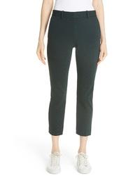 Theory Treeca Textured Knit Slim Crop Pants