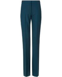 Victoria Victoria Beckham Pine Green Bootcut Pants