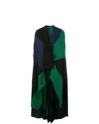 Dark Green Sleeveless Coat