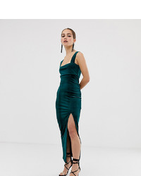61f1400bf5f Jarlo Kelly Maxi Dress With Cap Sleeve And Lace Insert Out of stock · Asos  Petite Asos Design Petite Velvet Square Neck Maxi Dress