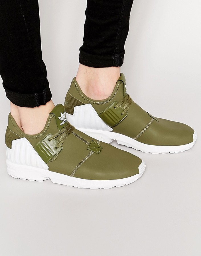 brand new bfd4e c526a $119, adidas Originals Zx Flux Plus Sneakers S79062
