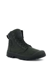Dark Green Snow Boots