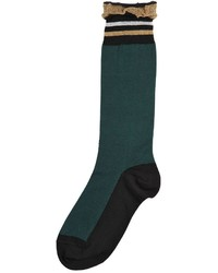 Marni Cotton Socks W Lurex