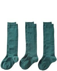 Dickies Classroom Big Girls Uniform Opaque Knee Hi Socks 3 Pack