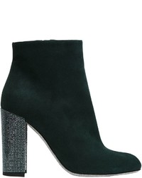 100mm suede ankle boots w swarovski medium 3733952