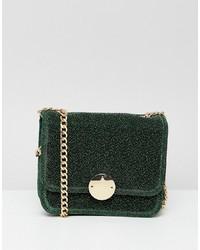 Vero Moda Velvet Chain Strap Bag
