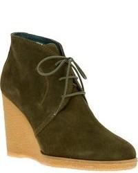 Castaner castaer lace up ankle wedges medium 92951