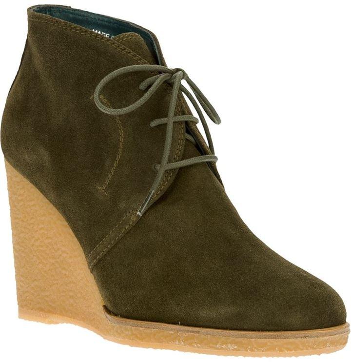 30d1fcf27334 ... Castaner Castaer Lace Up Ankle Wedges