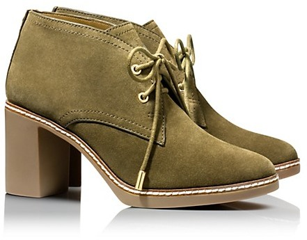 49a057f57e0 ... Ankle Boots Tory Burch Hilary Suede Boots