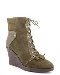 Madison Harding Henry Green Suede Fashion Ankle Boots Eu 38
