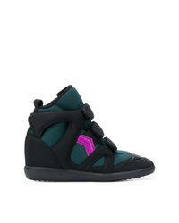 Isabel Marant Buckee Wedge Sneakers