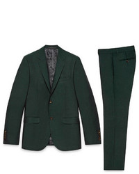 Dark Green Suit