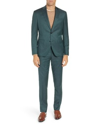 Ted Baker London Roger Slim Fit Solid Wool Suit