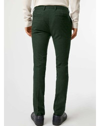 Topman Dark Green Ultra Skinny Fit Suit Pants | Where to buy & how ...