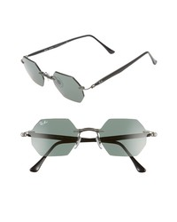 Ray-Ban 53mm Oval Sunglasses