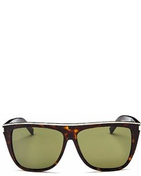 Saint Laurent Flat Top Square Sunglasses 59mm