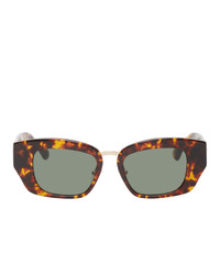 Dries Van Noten Linda Farrow Edition Rectangular Sunglasses