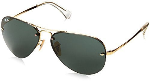 2b5f8e7a63 ... Ray-Ban Rb3449 Aviator Sunglasses 59 Mm Non Polarized Silversilver Grey  Gradient