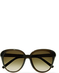 Chloé Sold Out Square Frame Acetate Sunglasses