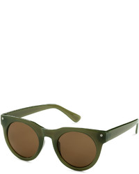 H&M Sunglasses Brownpatterned Ladies